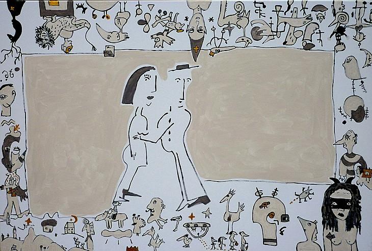 CINEMA PARADISO, 2007, 80 x 120 cm, canvas
