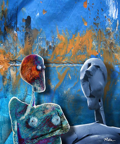 A enigma of human behavior  - Digital artwork by Ridha H