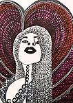 Israeli art works paintings and drawings art woman faces