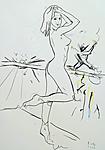 Artistin mit ihrem Direktor II