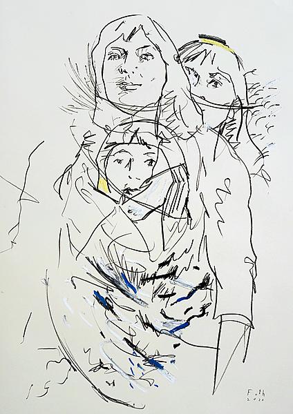 Studie zur jungen Juliette Gréco