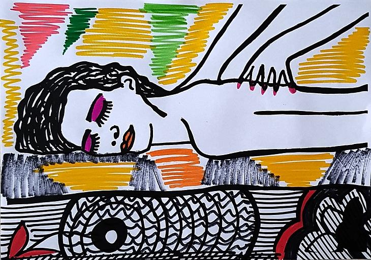 Lymphatics drainage massage art Dana Los Angeles