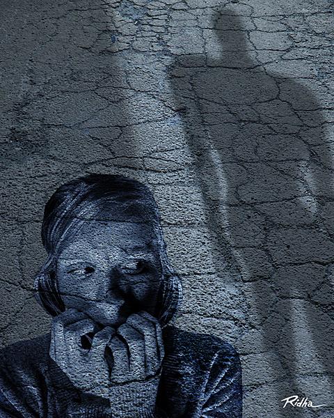 Trepidation  - by Ridha H
