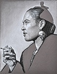 Portrait of Billy Holiday