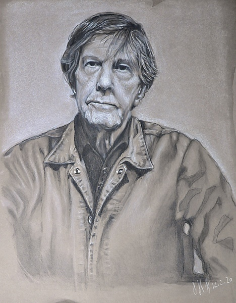Portrait of John Cage