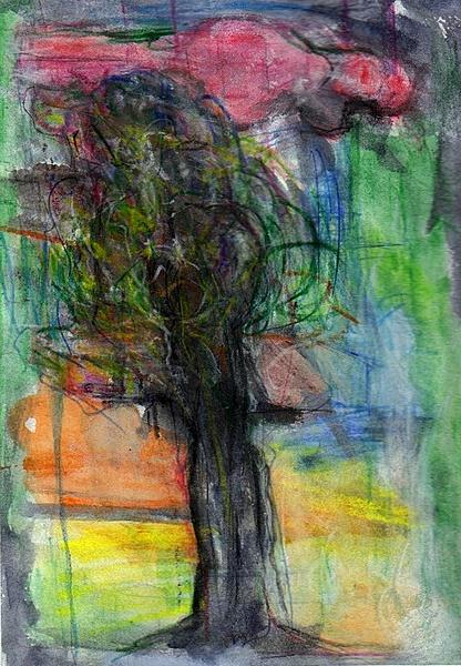 Akt im Wuselbaum
