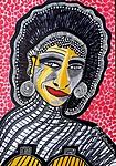 Pintora israeli retratos de rostros Mirit Ben-Nun