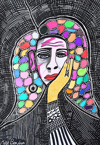 Out of this world portraits israeli modern artist Mirit Ben-Nun