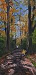 Herbstlicher Auwald