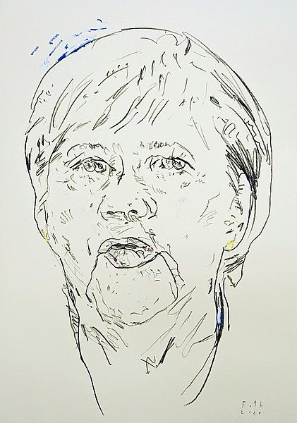 Merkel im Corona November