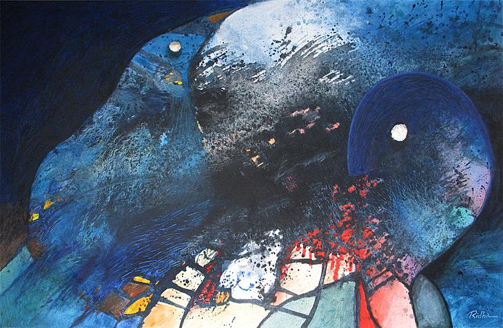 A silent conversation 2 -  Artwork by Ridha H