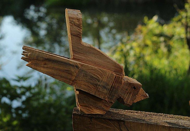 Wooden Bird Johanson
