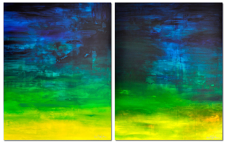 WHAT IF I FELL IN LOVE WITH YOU (diptych)