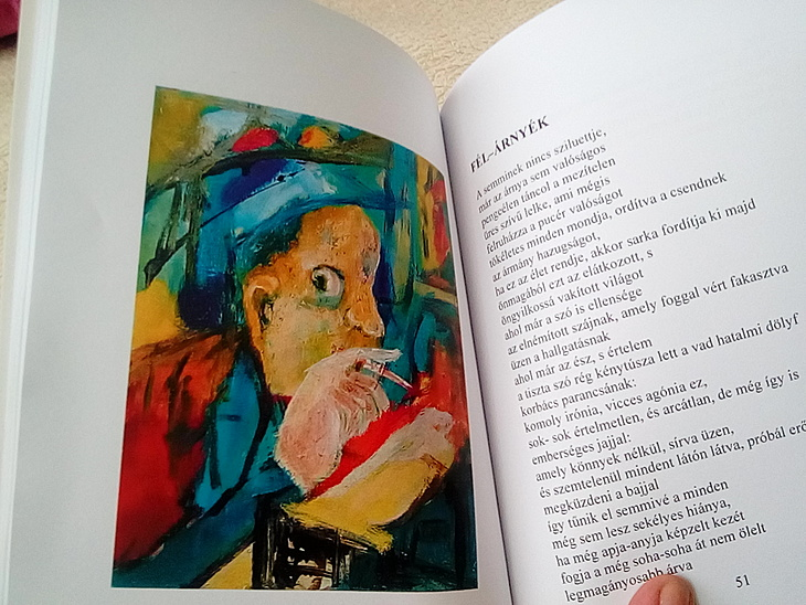Percze Miklós Gedichtsband Illustr. (ungarisch)