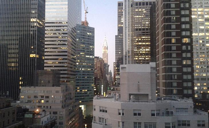 NY am Tag