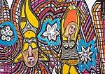 Pop Art Portraits Israel Mirit Ben-Nun drawings and paintings