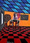 Pop art from Israel modern artist selling drawings and paintings