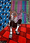Pop art Israei art tours for groups Mirit Ben-Nun modern painter