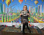 smadar sharett israeli woman poet raphael perez painter  artist