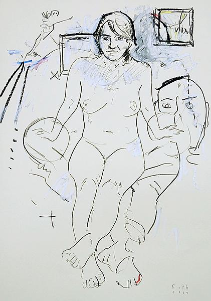 Erinnerung an die Galeristin Christa Gogol