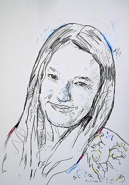 Antonia, achtzehnjährig