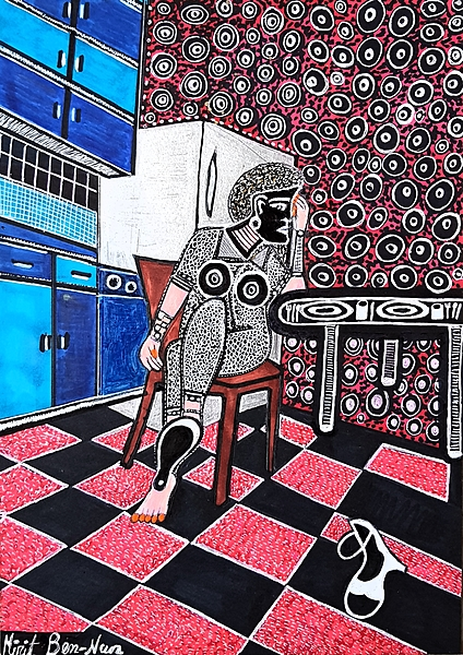 Artists from Israel Mirit Ben-Nun drawings and paintings