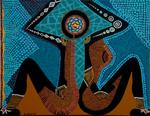 love israel arts woman female women paintings