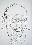 Werner Fellenz, von Krankheit gezeichnet