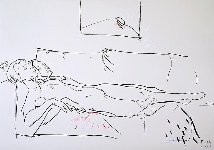 Tiefer Schlaf, Nackte im Corona Februar