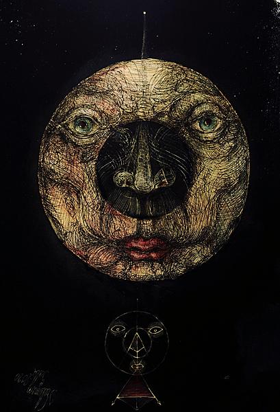 Circular face