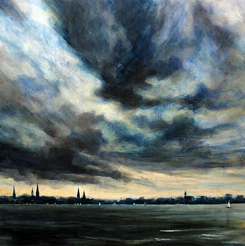 Hamburg storm sky 2