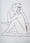 Studie einer unbekleideten Frau I