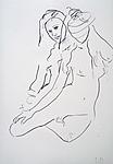 Studie einer unbekleideten Frau II