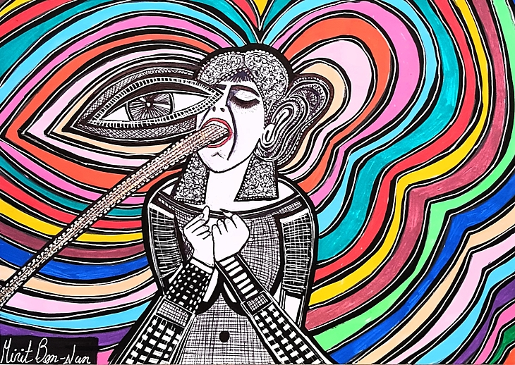 Art of feminism pictures by Mirit Ben-Nun