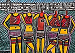 Mirit Ben Nun Israeli artwork paintings and drawings art