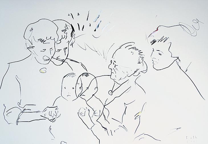 Der Künstler im Kleinkindalter