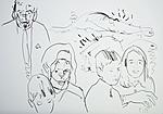 Der Künstler mit Familie Foth