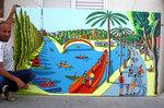park hyarkon - tel aviv street paintings