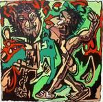 primitive naive painting