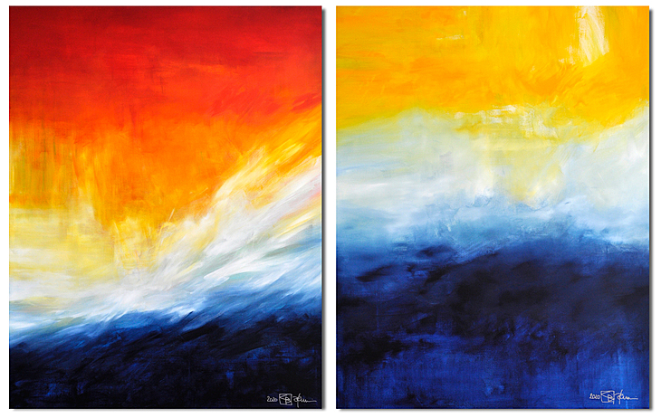 UNTIL THE WORLD WILL DISAPPEAR (diptych)