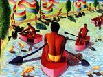 the lake - gay  art