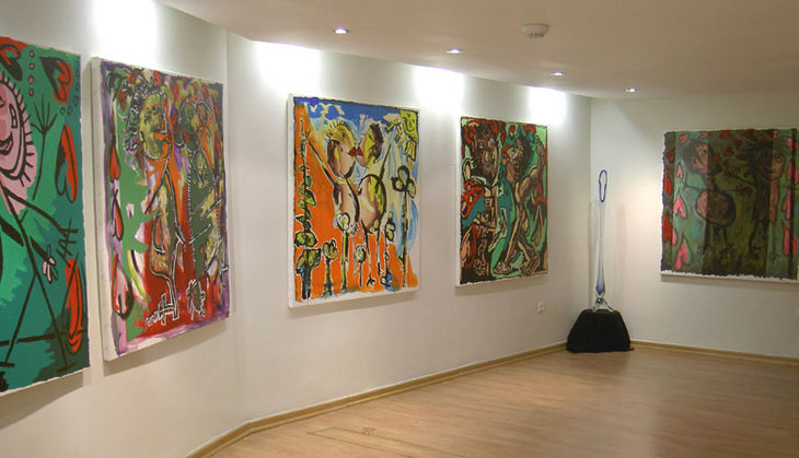 my  naive paintings on gallery