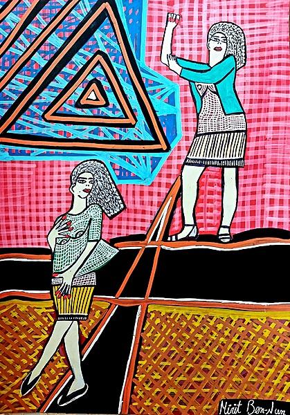 New paintings from Israel Mirit Ben-Nun