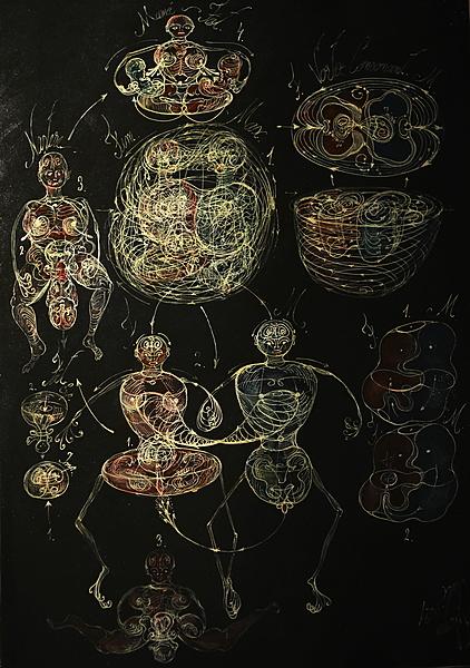 Human entanglement duality