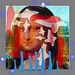 Modern Art Mona Lisa