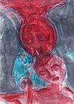Mondwesen rot