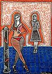 Realism art paintings from Israel by Mirit Ben-Nun