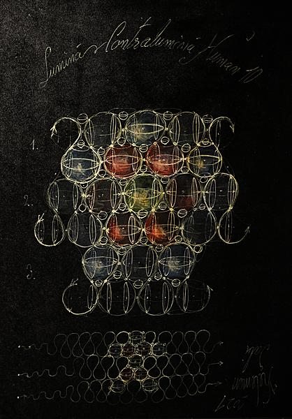 Etheric fields light and anti-light Human archetype