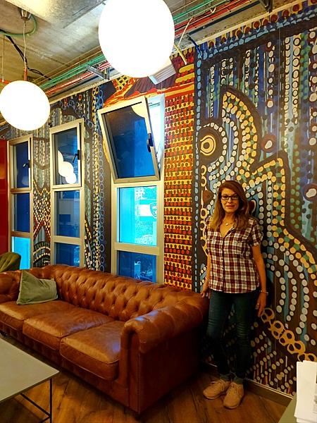 Art wall paintings by modern artist Mirit Ben-Nun