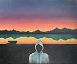 Sundown By The Lake